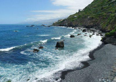 playa las aguas en san juan de la rambla tenerife