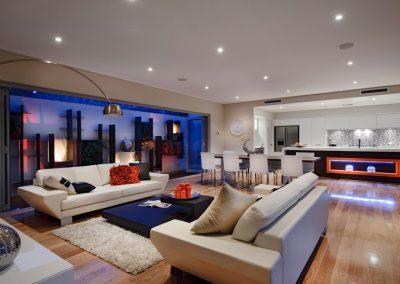 casa moderna fachada e interiores diseños exclusivos fotos salon comedor cocinas Islas Canarias dentro