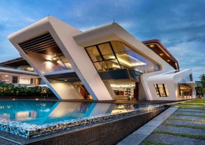 casas modernas con piscina de lujo estilos retros y clasicas en Mega Casa Canarias Tenerife Islas Canarias