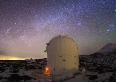 fotos del observatorio del teide estrellas de noche amo las islas canarias