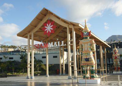 centro comercial siam mall en tenerife sur costa adeje amo las islas canarias