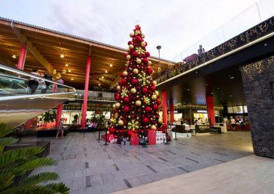 navidad en tenerife costa adeje siam mall centro comercial arbol amo las islas canarias