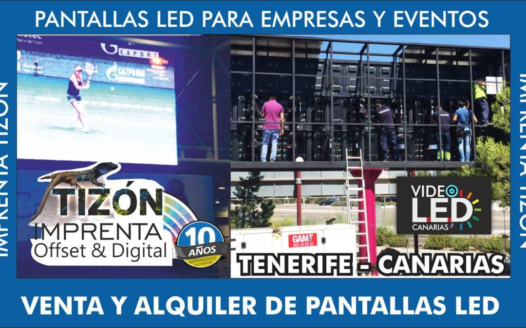 Empresa de pantallas led ISLAS CANARIAS TENERIFE sur adeje