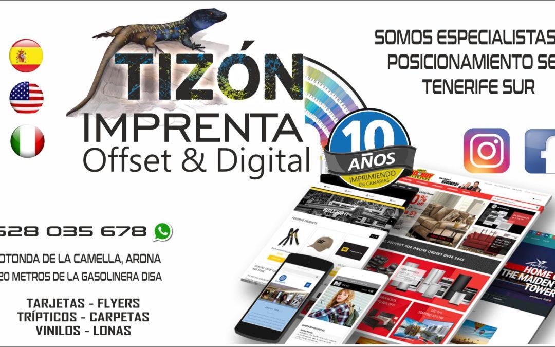 agencia SEO ISLAS CANARIAS diseño web TENERIFE SUR adeje feeling comunicacion
