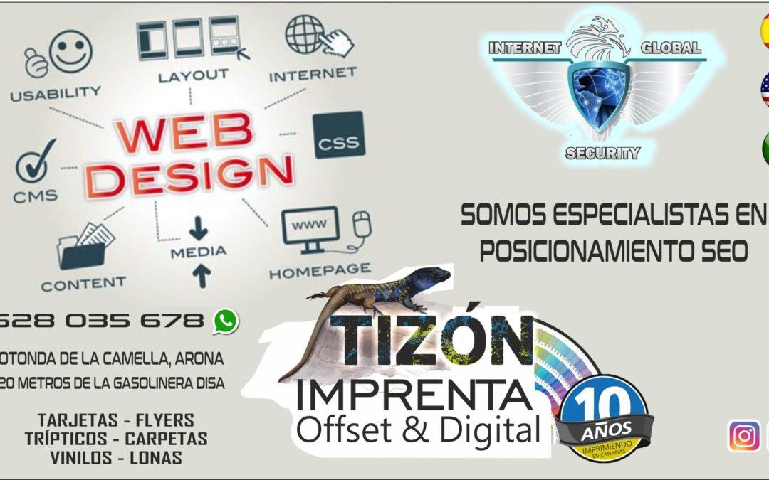 diseño de paginas web islas canarias seo tenerife
