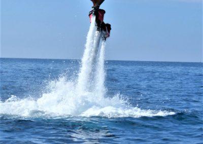 flyboard en tenerife sur islas canarias arona