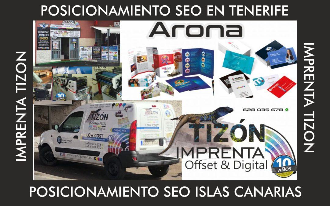 imprenta en ISLAS CANARIAS offset digital Tenerife