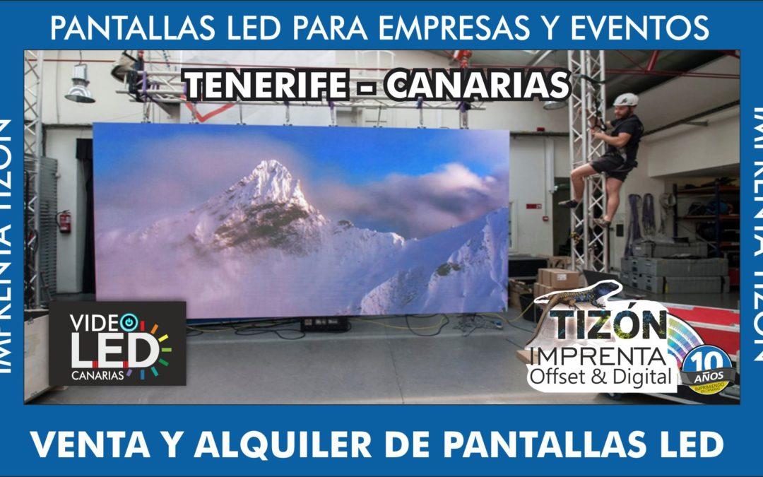 venta de pantallas led ISLAS CANARIAS TENERIFE sur arona