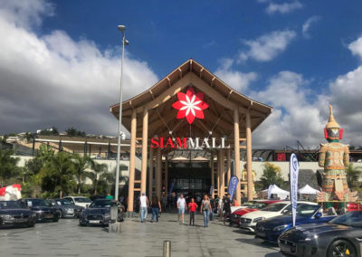 centro comercial siam mall en costa adeje tenerife sur ocio tiendas negocios locales restaurantes y bares