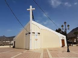 iglesia de buzanada en arona tenerife sur misa centro cultural biblioteca