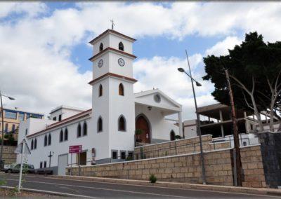 iglesia de la camella en arona tenerife sur fiestas plaza misa