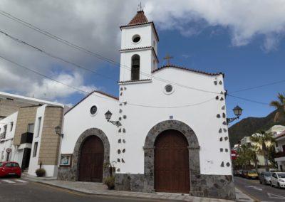 iglesia del valle de san lorenzo en arona tenerife sur misa parque plaza romerias