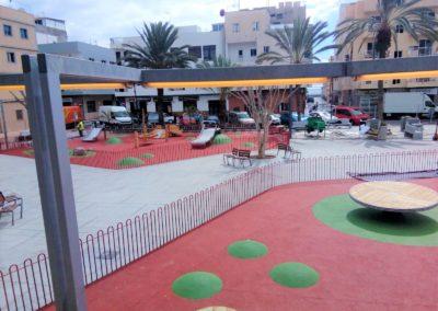 nuevo parque de las galletas en arona tenerife sur parque para niños juegos diversion puerto maritimo paseo