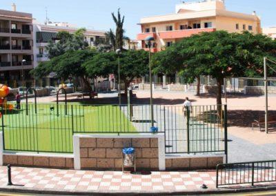 paque cesar manrique en adeje pueblo tenerife sur juegos parque para niños diversion