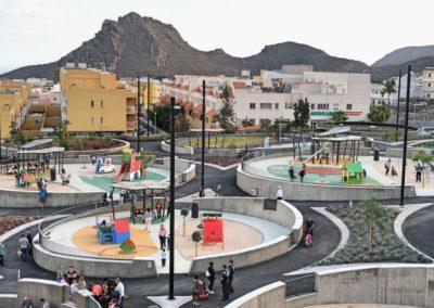parque en cabo blanco arona para niños para jugar juegos diversion nuevo