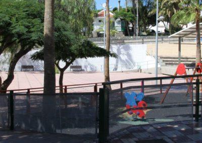 parque infantil de fañabe en adeje tenerife sur plaza de fañabe parque para niños ocio juegos diversion