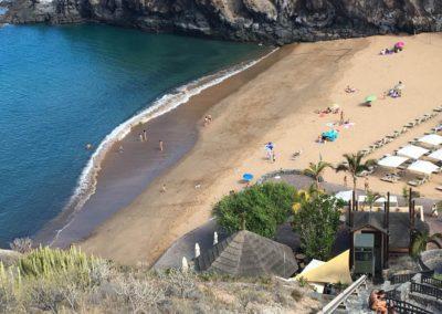playa de la caleta en costa adeje tenerife sur playas de arena en adeje nadar
