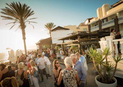 roca negra sunset bar y restaurante en playa paraiso costa adeje tenerife sur ver el atardecer