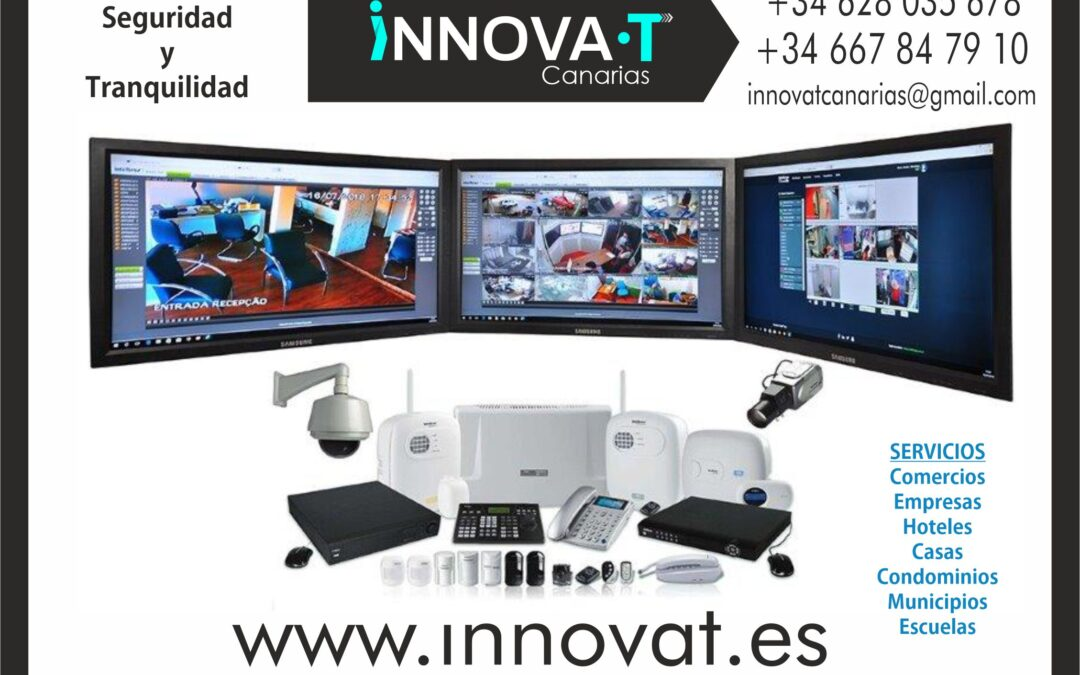 empresa de videovigilancia en tenerife islas canarias innovat cctv