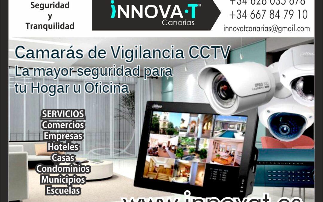venta instalacion de camaras cctv para oficinas comercios empresas islas canarias