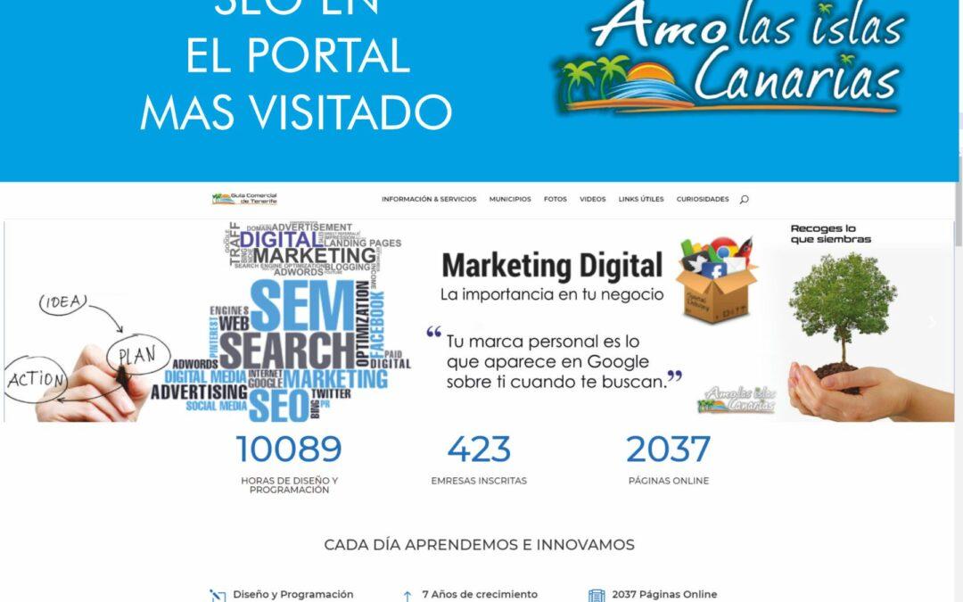 Publicidad en Internet tenerife sur islas canarias
