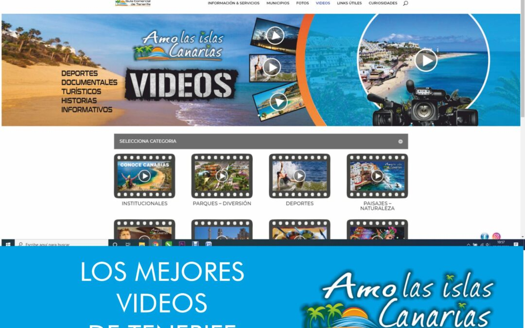 Videos de tenerife sur islas canarias