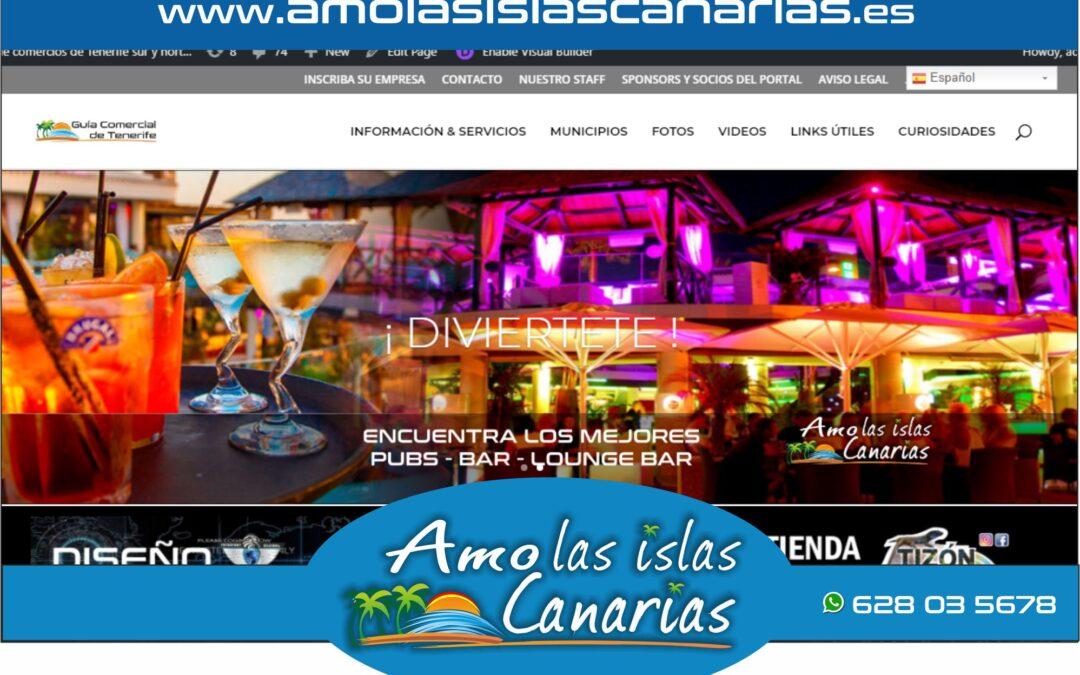 cafeterias y bares en Tenerife sur y norte Islas Canarias