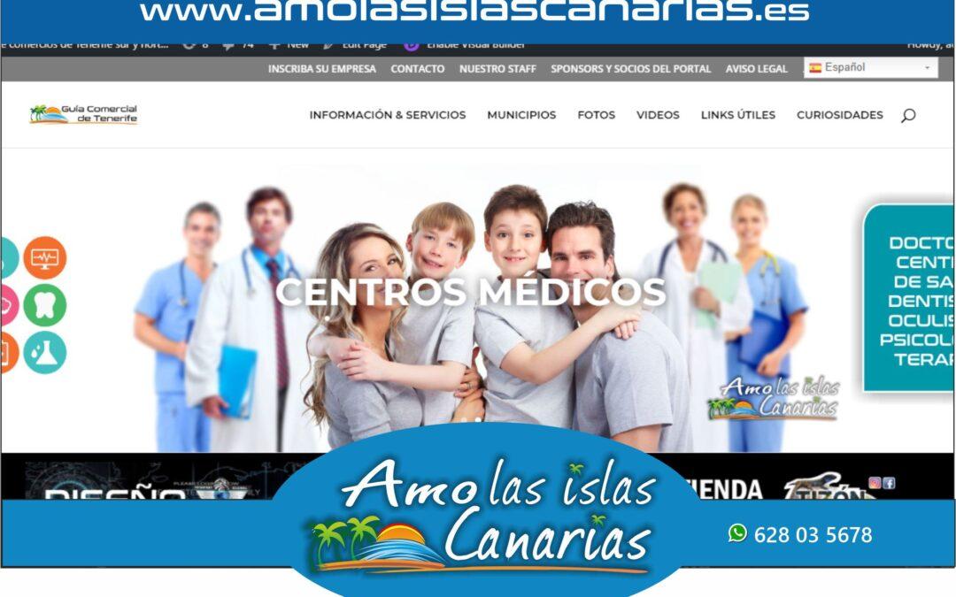 centros de salud y medicos en Tenerife sur Islas Canarias