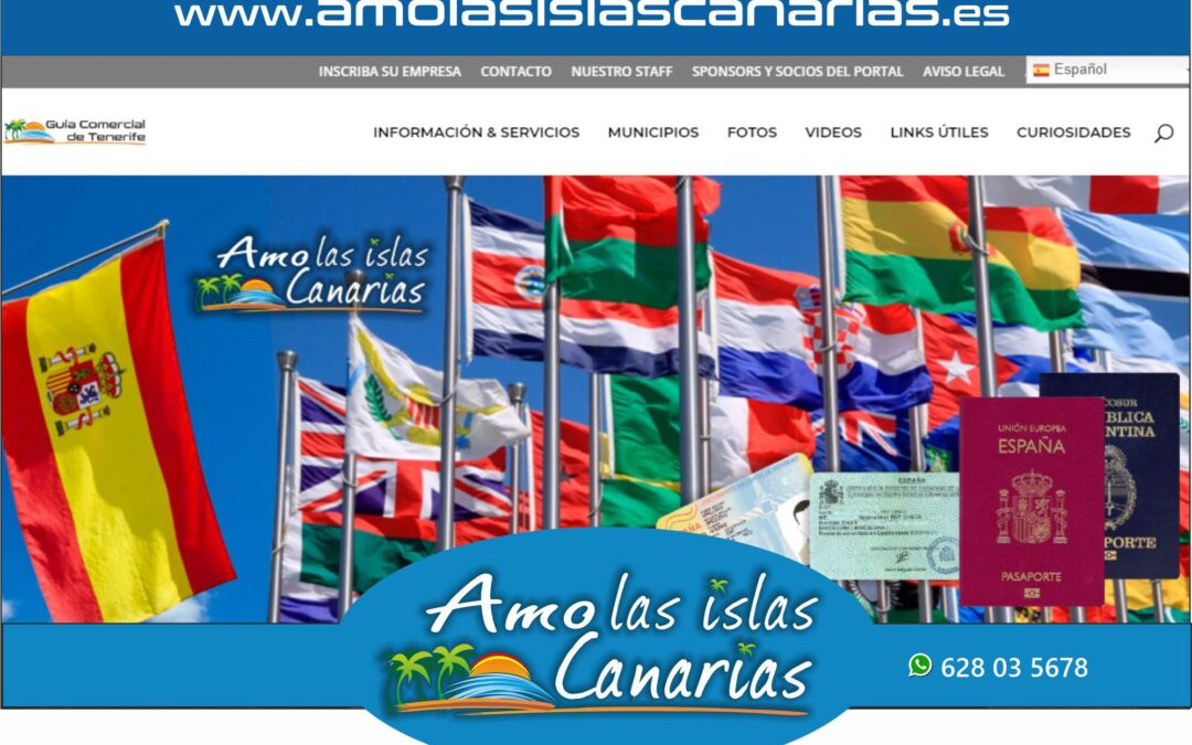 consulados abogados y asesores en Tenerife sur y norte Islas Canarias
