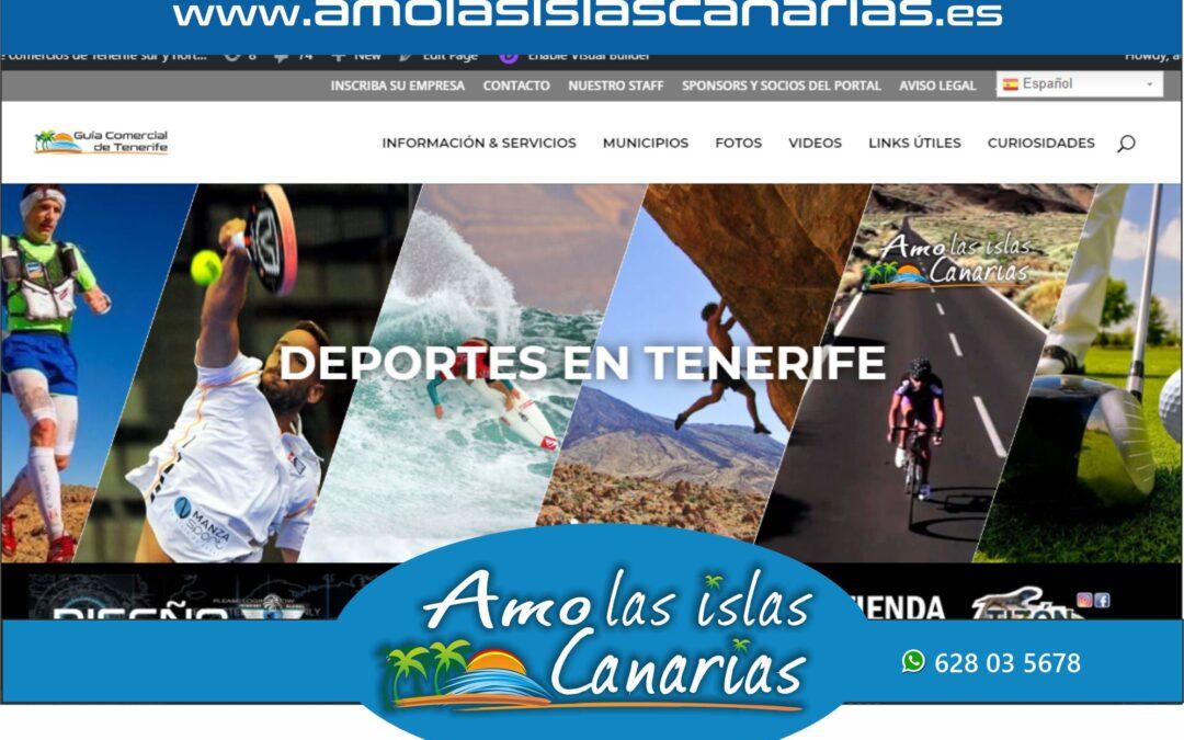 deportes en Tenerife sur y norte Islas Canarias