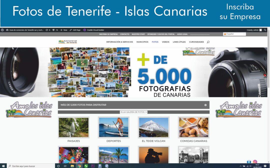 fotos playas de tenerife sur islas canarias