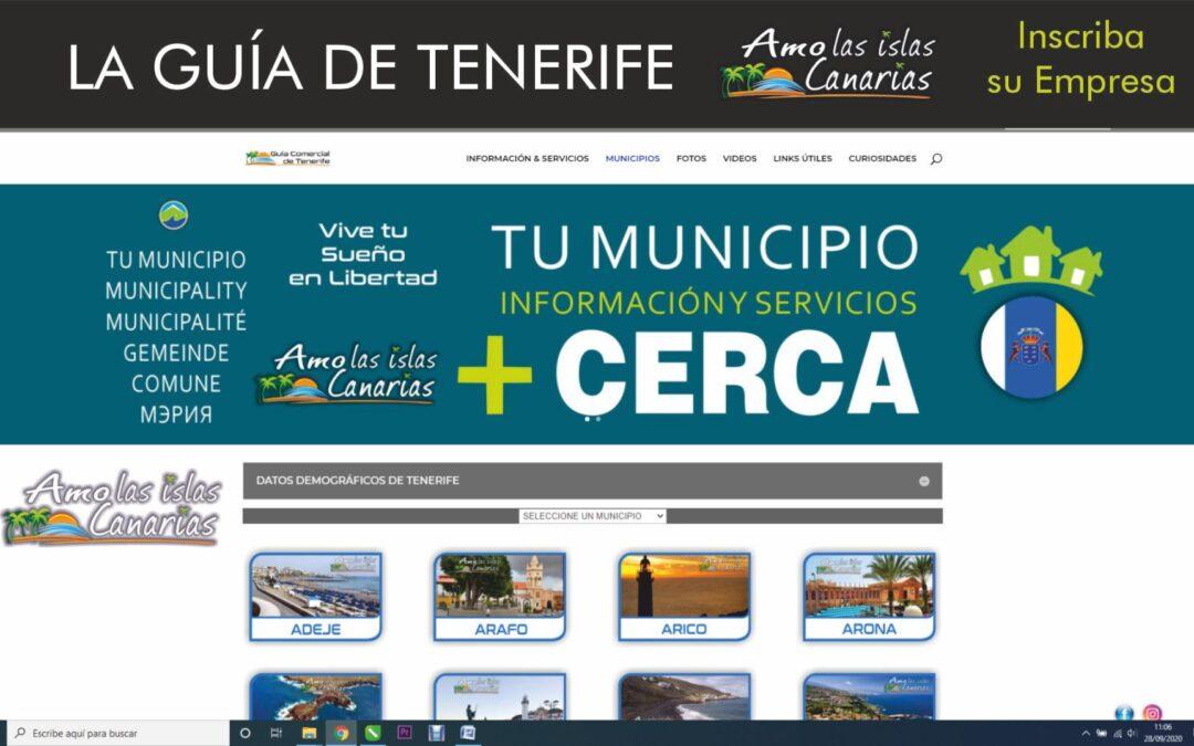 lista de municipios de Tenerife Islas Canarias