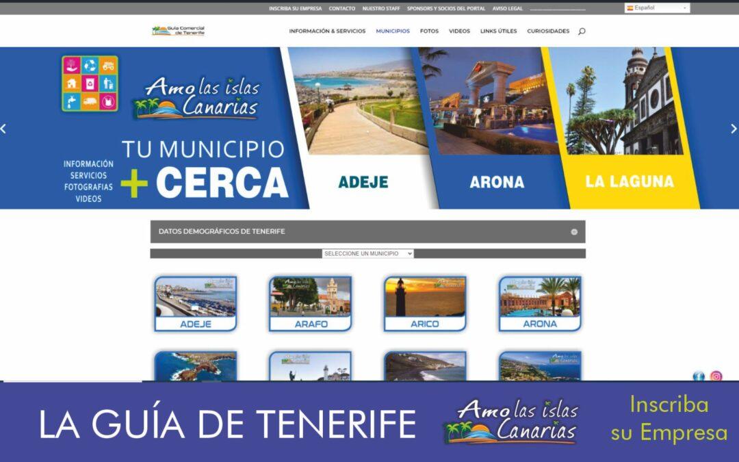 municipios de tenerife sur Arona Adeje Islas Canarias