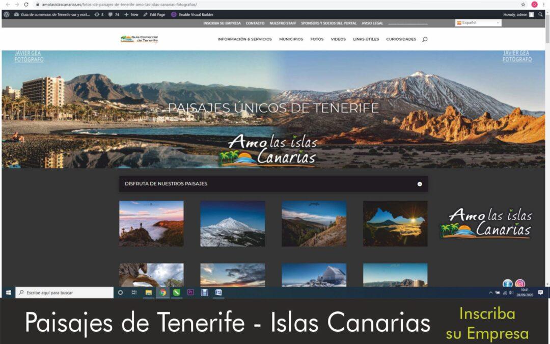 paisajes de tenerife islas canarias