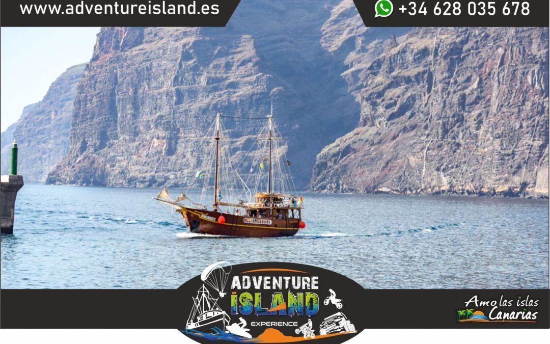 excursiones en barco desde los gigantes