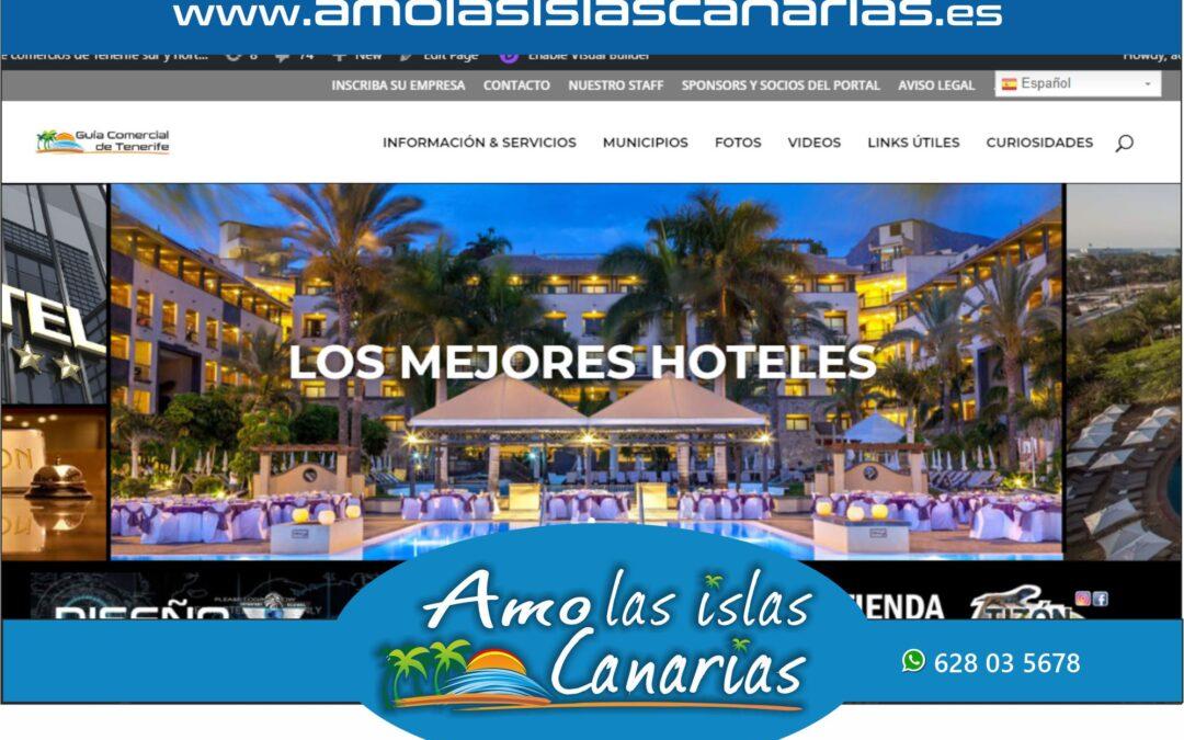 hoteles y alojamientos en Tenerife sur y norte Islas Canarias