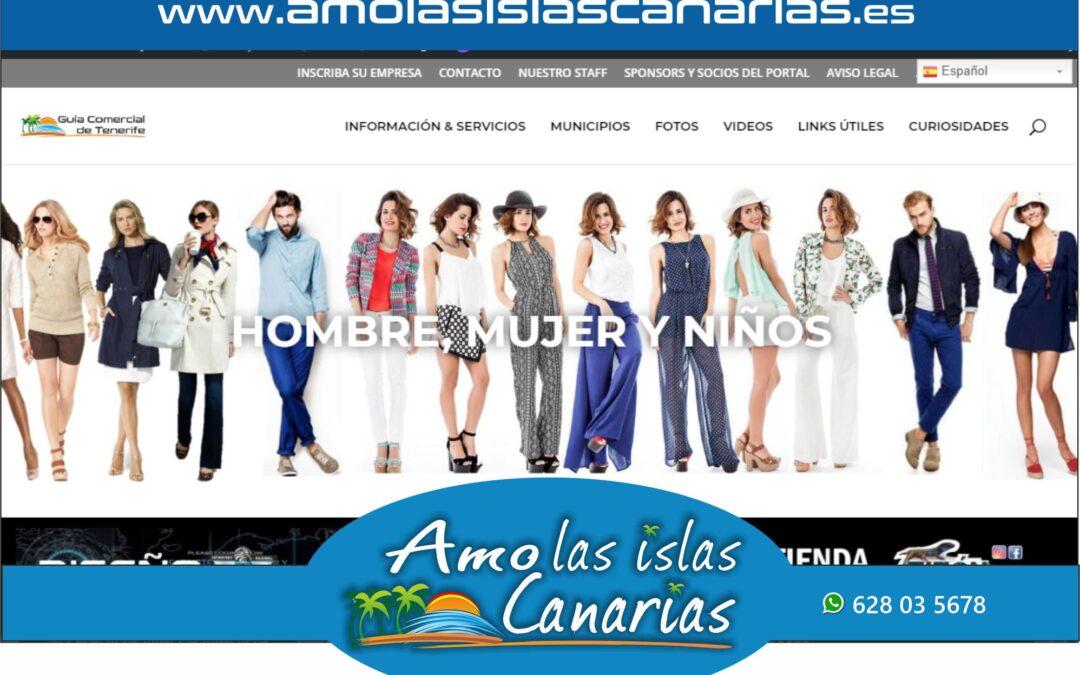 indumentaria y calzado en Tenerife sur y norte Islas Canarias