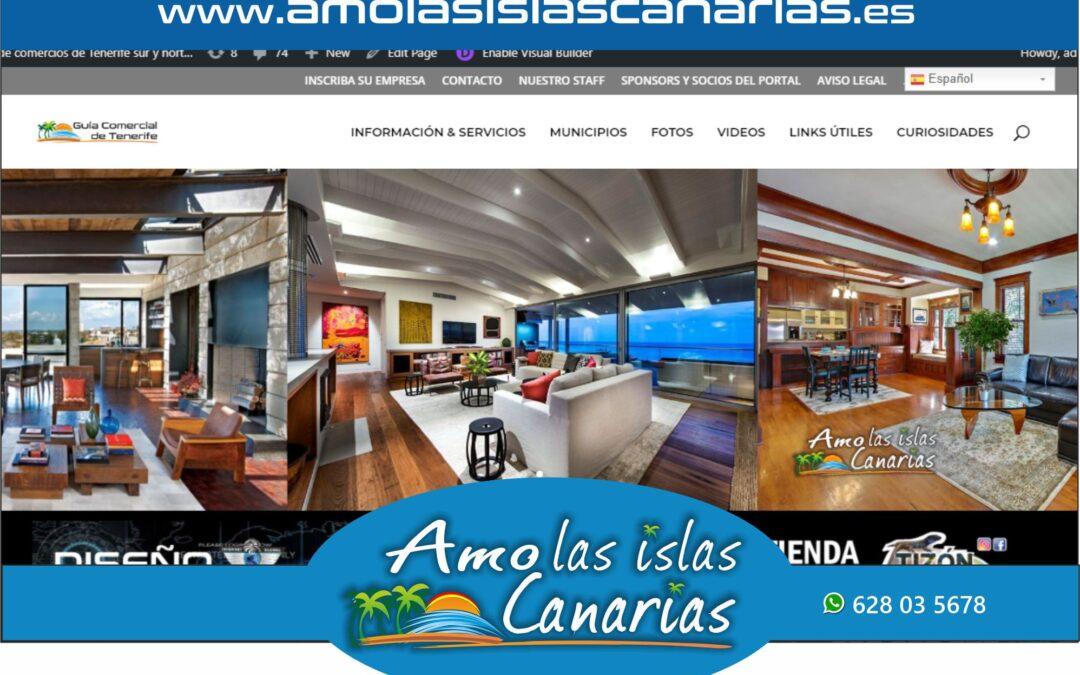 muebles y decoracion en Tenerife sur y norte Islas Canarias