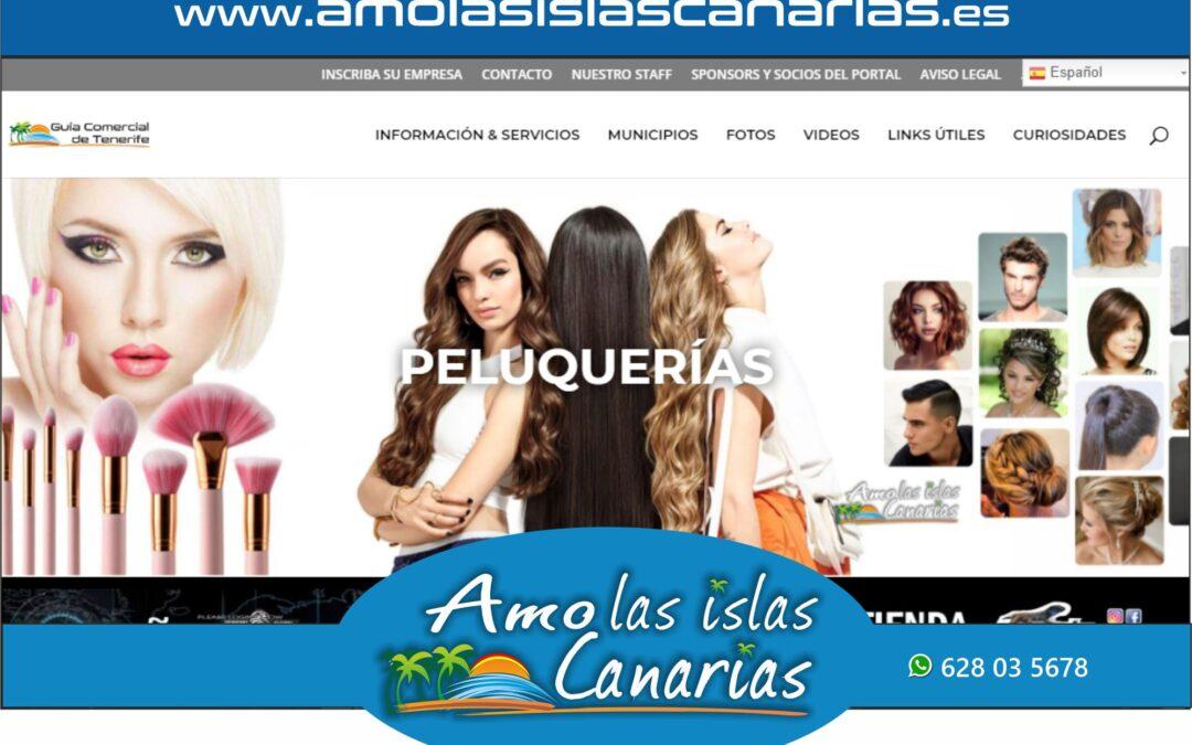 peluquerias y esteticas en Tenerife sur Islas Canarias