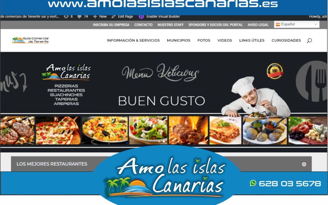 restaurantes en Tenerife sur y norte Islas Canarias