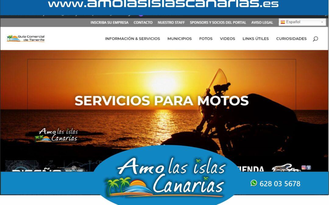servicios para motos en Tenerife sur y norte Islas Canarias