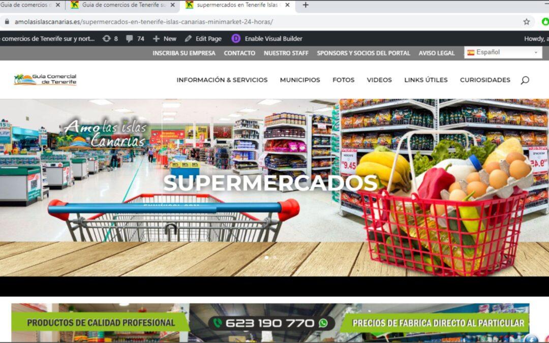 supermercados y minimarkets en Tenerife sur Islas Canarias