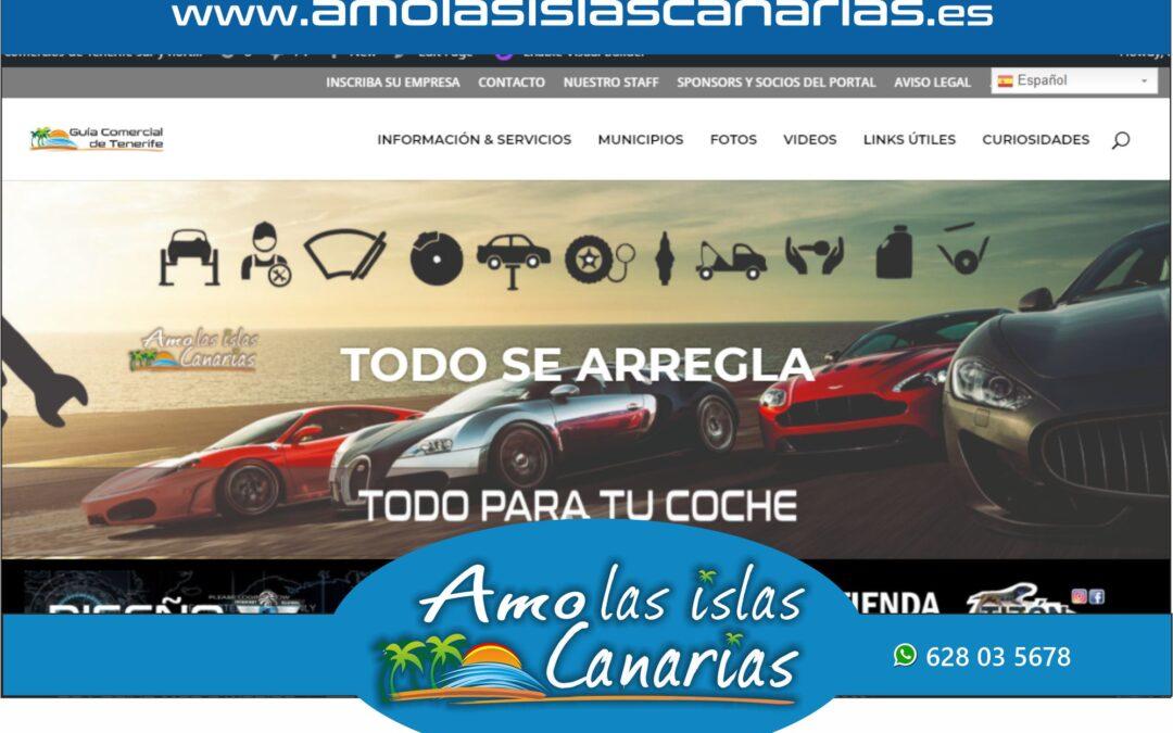 talleres mecanicos en Tenerife sur y norte Islas Canarias