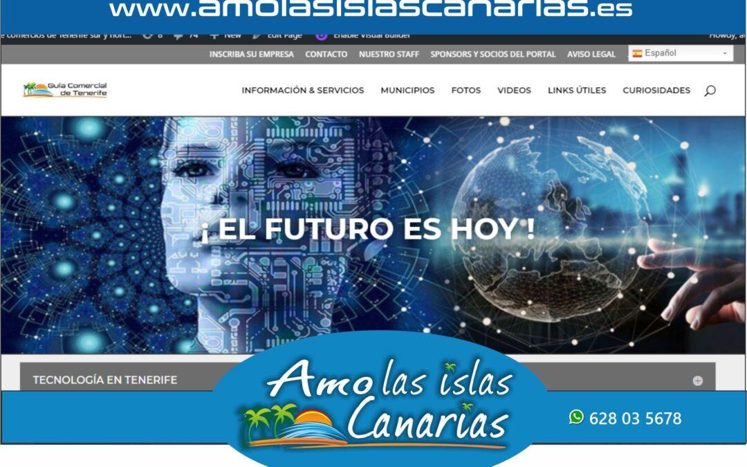 tecnologia e informatica en Tenerife sur Islas Canarias