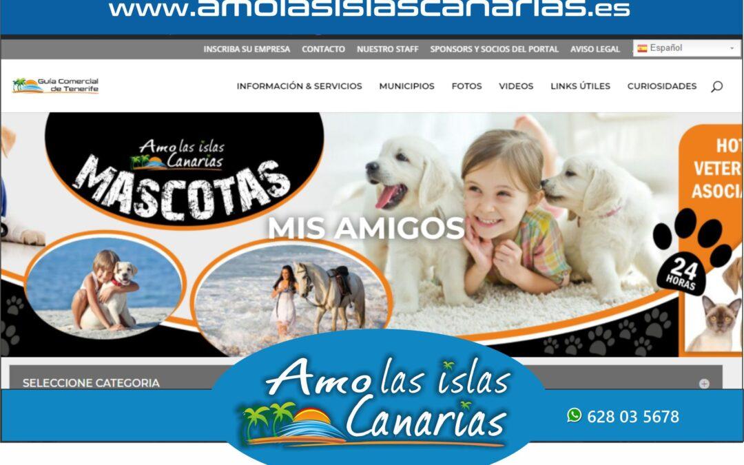 veterinarios y mascotas en Tenerife sur Islas Canarias